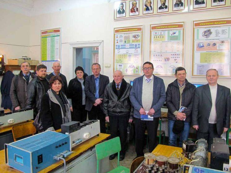 Засідання методичного об'єднання викладачів електротехнічних дисциплін закладів освіти Львівщини